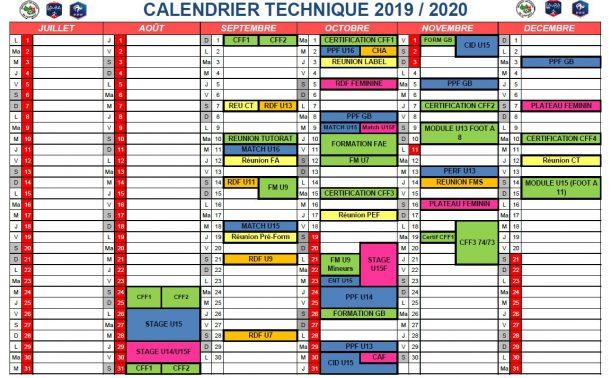 Calendrier Foot 2019 2020.Calendrier Technique 2019 2020 District De Savoie De